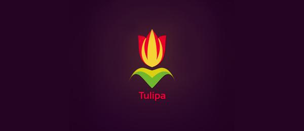 flower logo tulipa 28