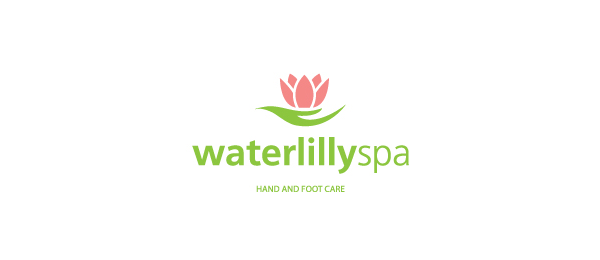 flower logo waterlilly spa 52