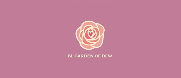 garden flower logo 31