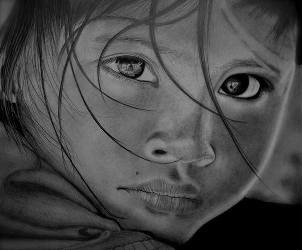 girl drawing 12