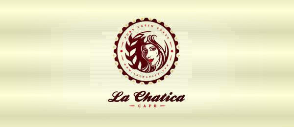 coffee bakery girl logo 34