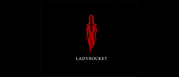 girl logo lady rocket 27