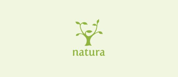 girl logo natura 49