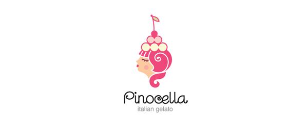 ice cream logo girl 18