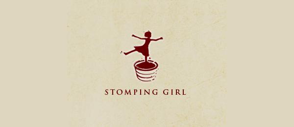 stomping girl wines logo 5