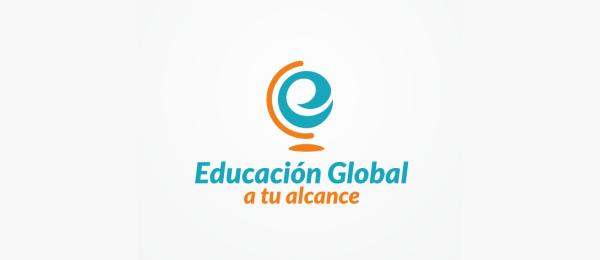 educacion global logo e typo 30