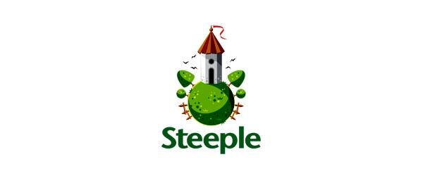 globe logo online estate 19