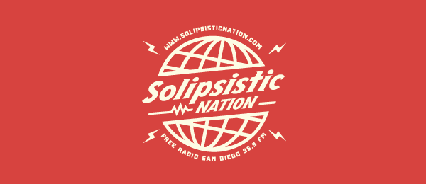 globe logo solipsistic nation 6