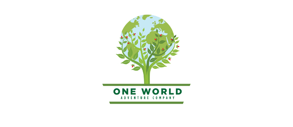 green globe logo adventure 15