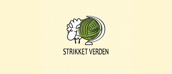 knitted garments globe logo 43