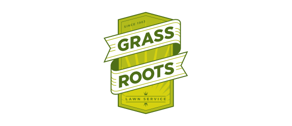 grass roots lawn service logo 43