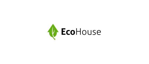 green logo eco house 11