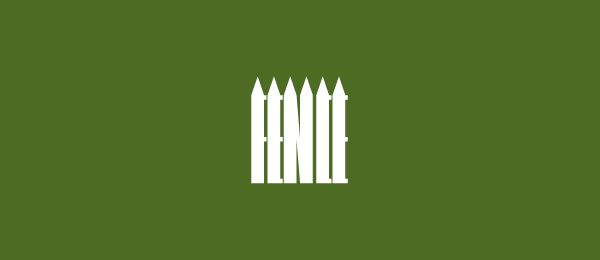 green logo fence 20