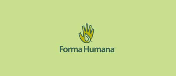 green logo forma humana 56