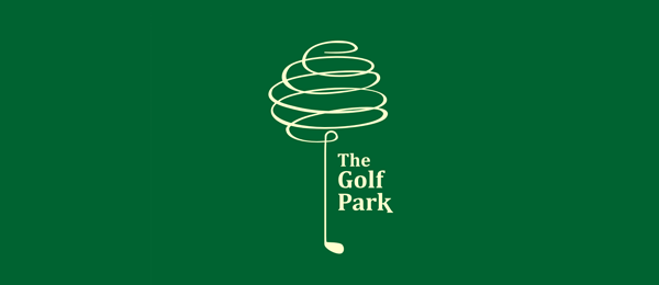 green logo golf park 54