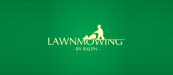 green logo lawn mowing 27