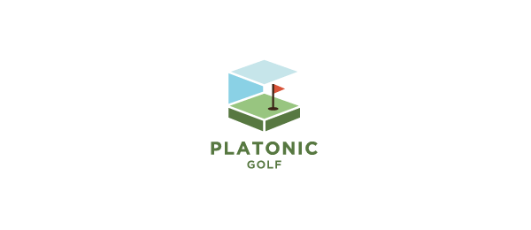 green logo platonic golf 45