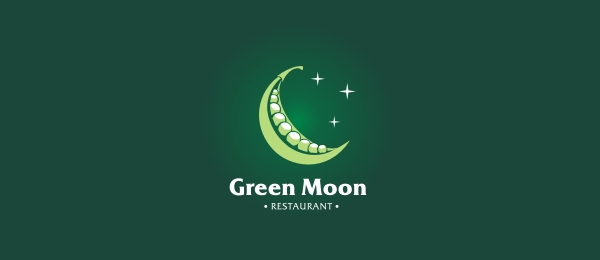 green moon restaurant logo 8