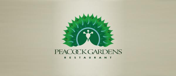 green peacock gardens restaurant logo 41