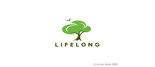life long green tree logo 51
