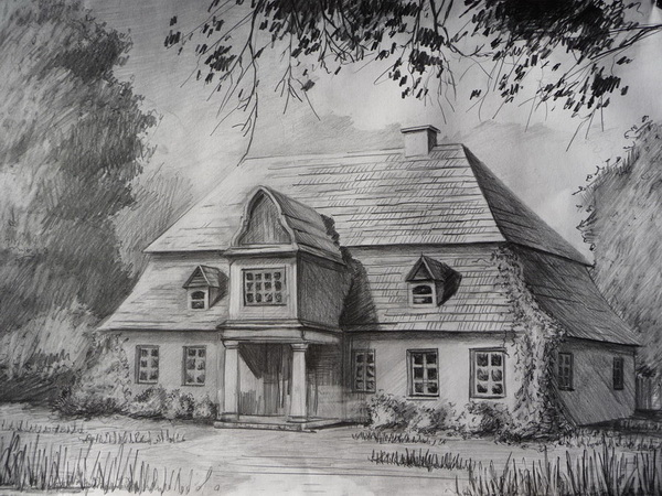 house drawing 1