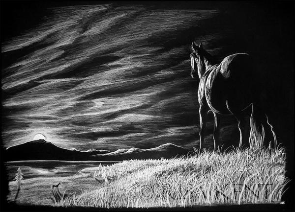landscape drawing 12