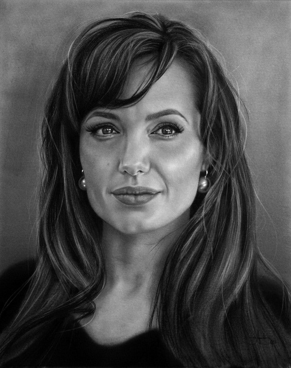 This is an image of Comprehensive Woman Portrait Drawing
