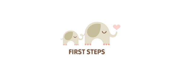 elephant heart logo first steps 41