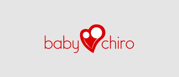 heart logo baby chiro 37