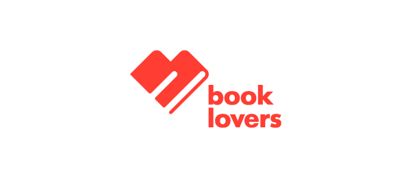 heart logo book lovers 56