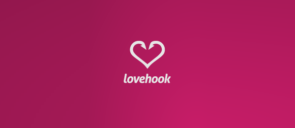heart logo love hook 53