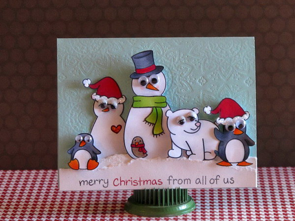 50 creative homemade christmas cards showcase hative