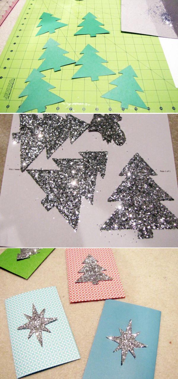 50 creative homemade christmas cards showcase hative for Creative diy christmas cards