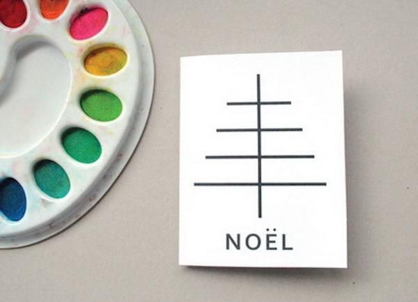 fingerprint christmas card 16