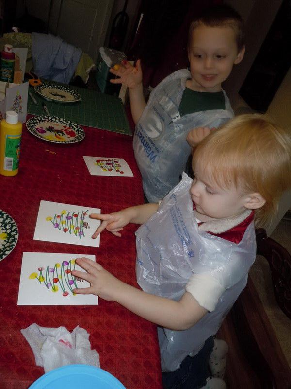 fingerprint christmas card 32