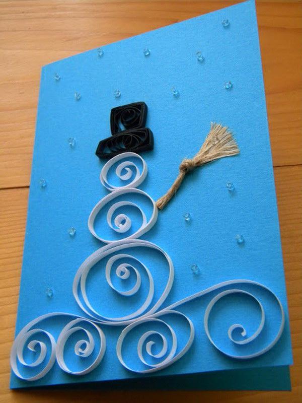 homemade christmas card 57