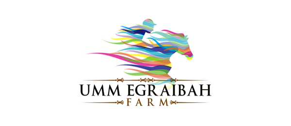 horse breeding farm logo 34