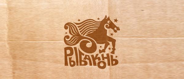 horse fish logo 8