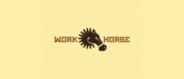 horse head logo 3