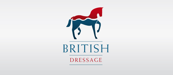 horse logo british dressage 44