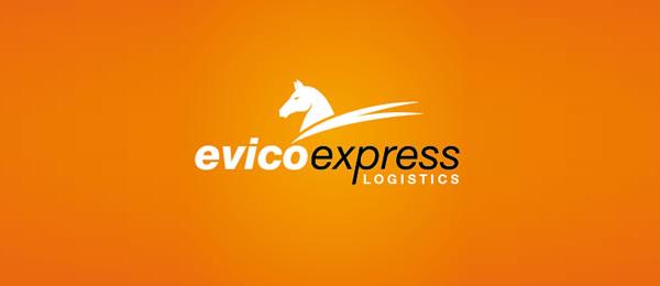 horse logo evico express 48