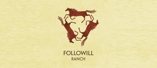 horse logo followill ranch 9