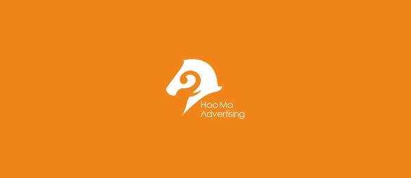 horse logo haoma advertising 33