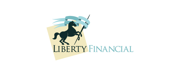 horse logo liberty financial 50