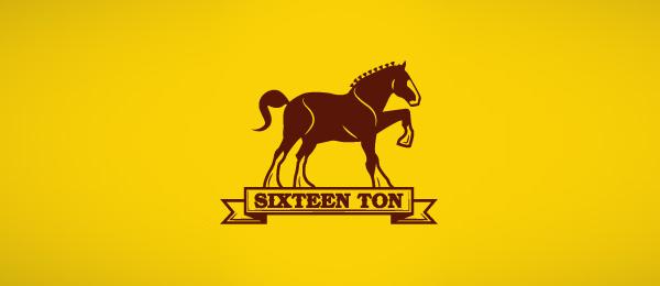 horse logo sixteen ton 37