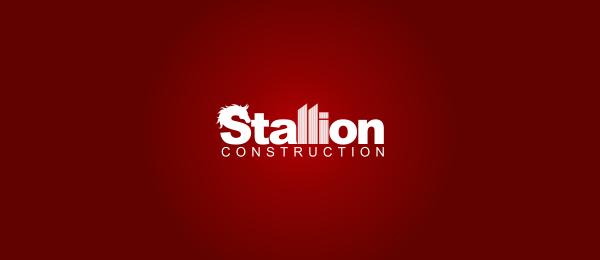 horse logo stallion construction 38
