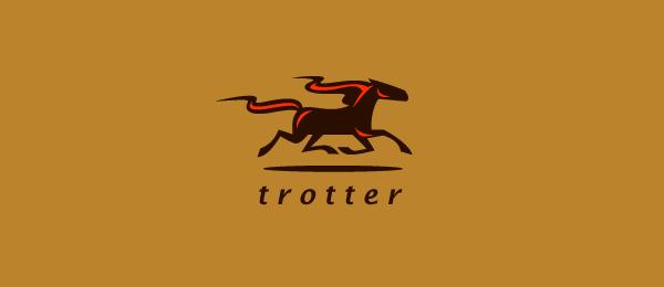 horse logo trotter 49
