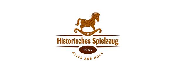 wood horse logo 7