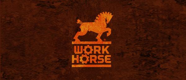 work horse logo 11