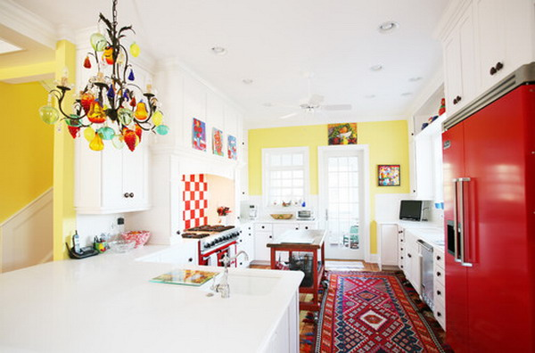 eclectic kitchen 29
